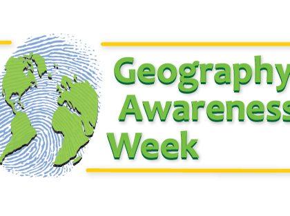 La settimana della consapevolezza geografica