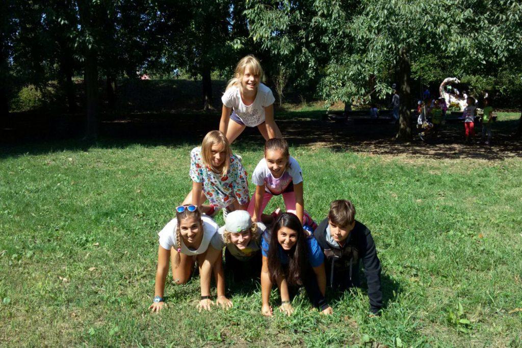 bambini greenglish camp fondazione la fenice