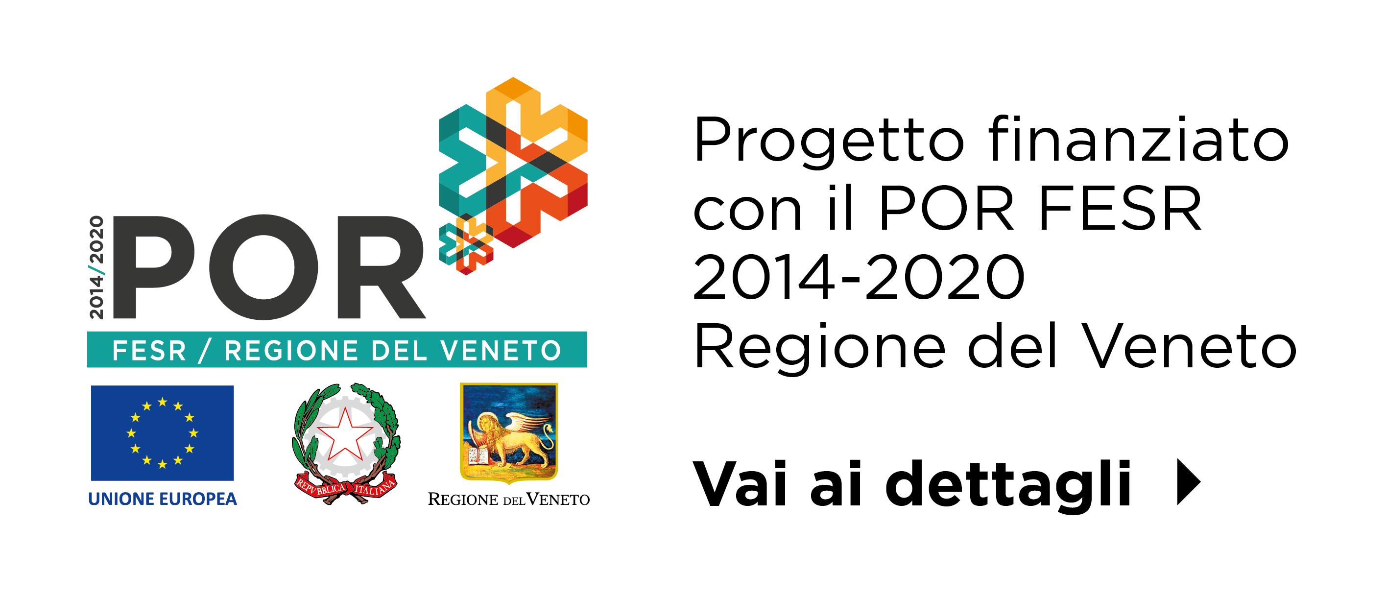 Logo POR FESR Regione Veneto