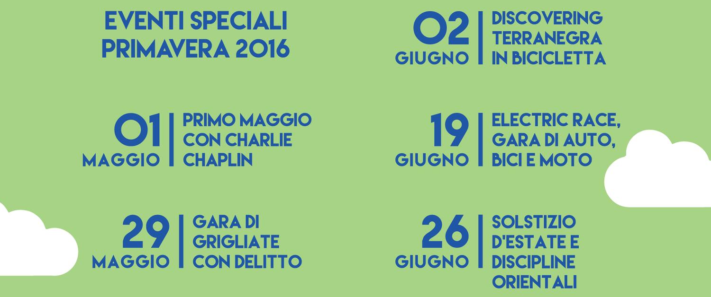 eventi speciali 2016