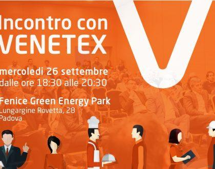 Venetex vi incontra il 26 settembre